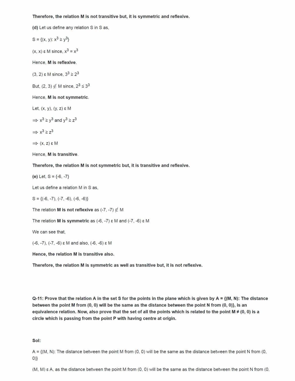 Ncert Solutions For Class 12 Maths Chapter 1 Ex 1.1