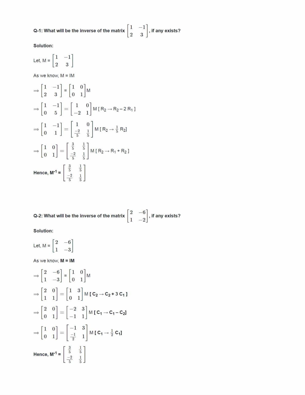 Ncert Solutions For Class 12 Maths Chapter 3 Ex 3.4