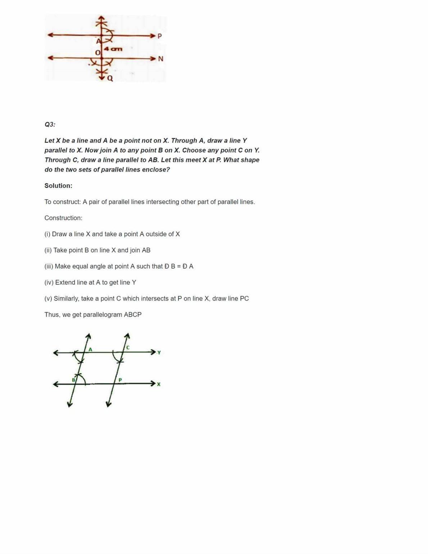 Ncert Solutions For Class 7 Maths Chapter 10 Ex 10.1