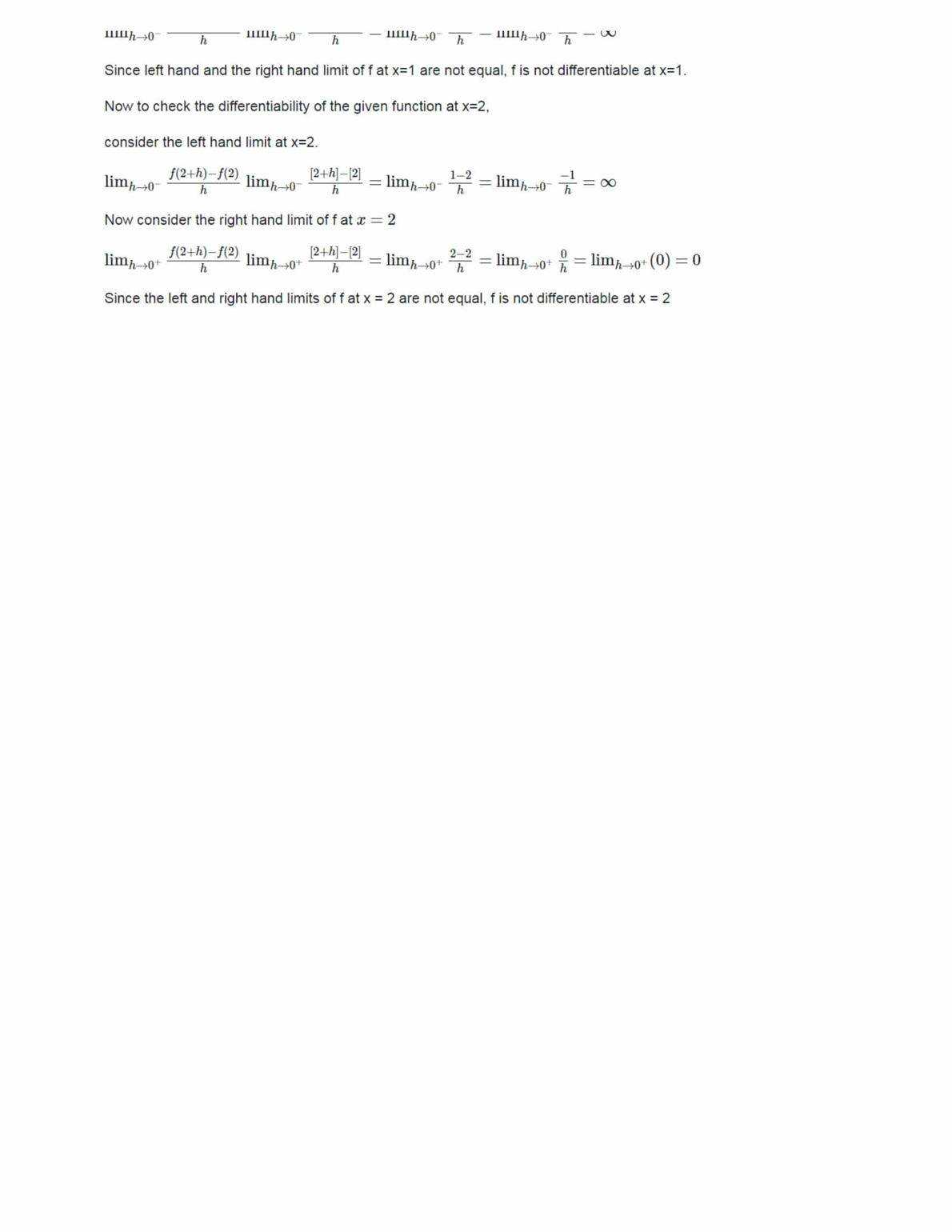 Ncert Solutions For Class 12 Maths Chapter 5 Ex 5.2