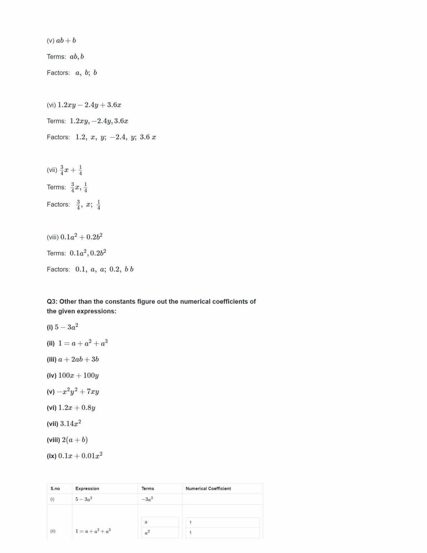 Ncert Solutions For Class 7 Maths Chapter 12 Ex 12.1