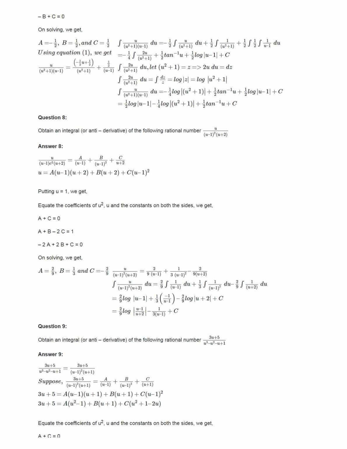 Ncert Solutions For Class 12 Maths Chapter 7 Ex 7.5