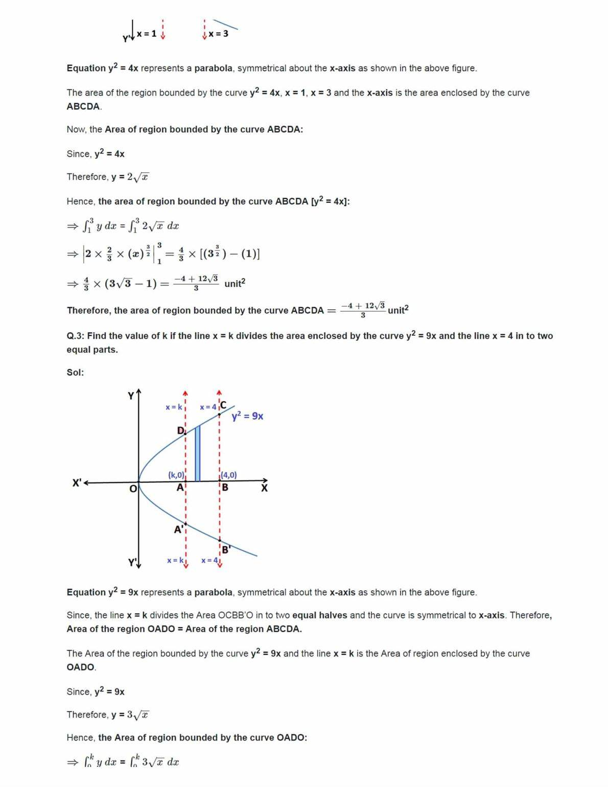 Ncert Solutions For Class 12 Maths Chapter 8 Ex 8.1