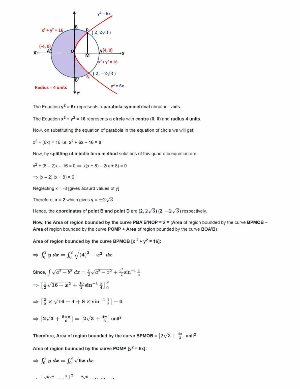 Ncert Solutions For Class 12 Maths Chapter 8 Ex 8.3