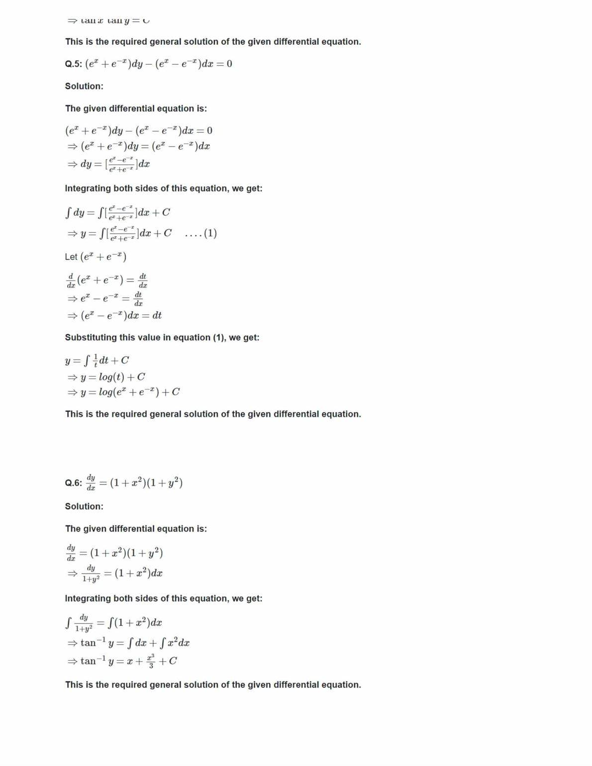 Ncert Solutions For Class 12 Maths Chapter 9 Ex 9.4