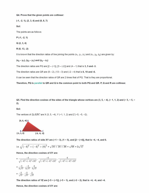 Ncert Solutions For Class 12 Maths Chapter 11.3 Ex 11.1