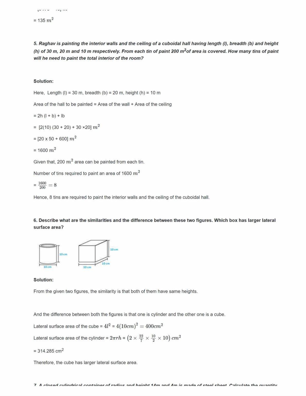 Ncert Solutions For Class 8 Maths Chapter 11 Ex 11.1Ncert Solutions For Class 8 Maths Chapter 11 Ex 11.3
