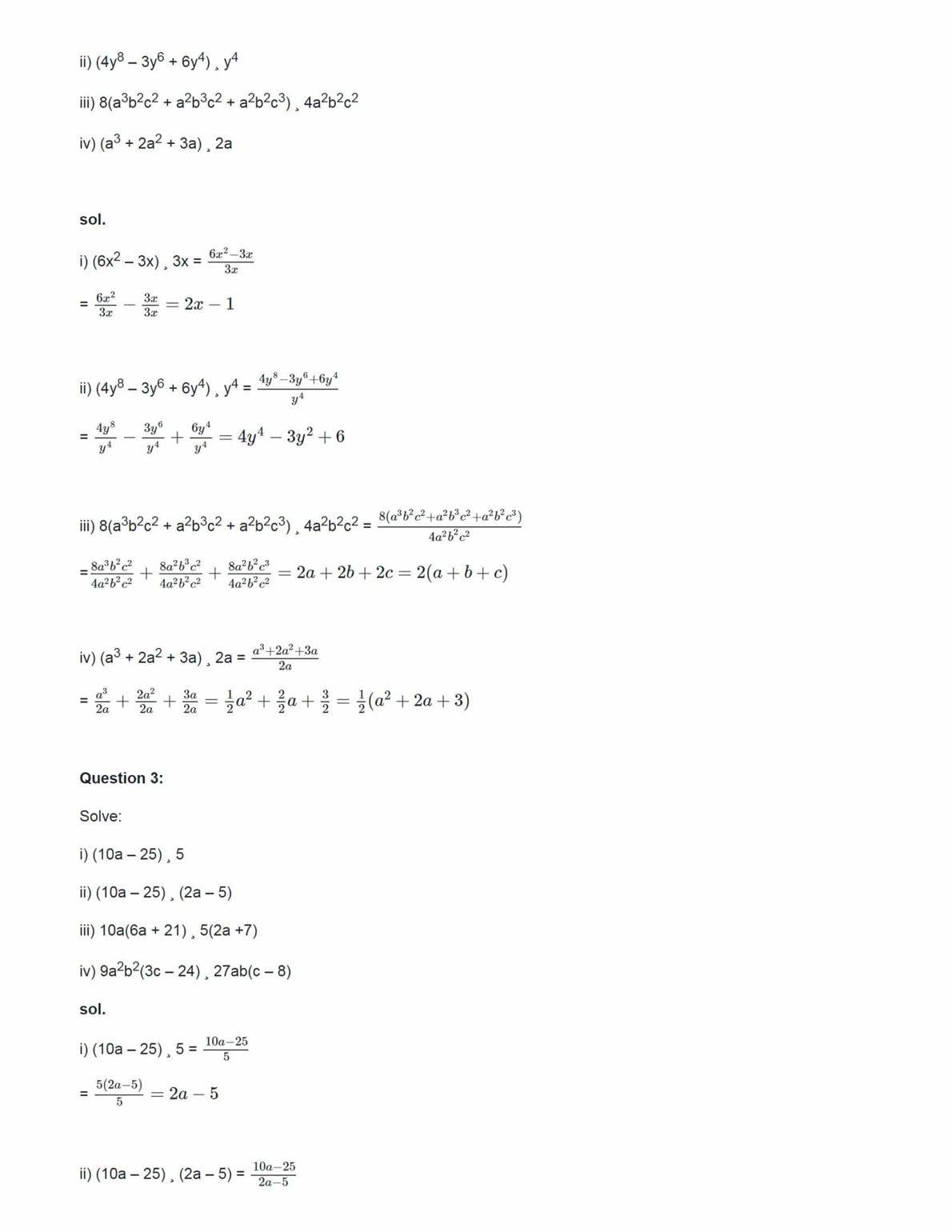 Ncert Solutions For Class 8 Maths Chapter 14 Ex 14.3