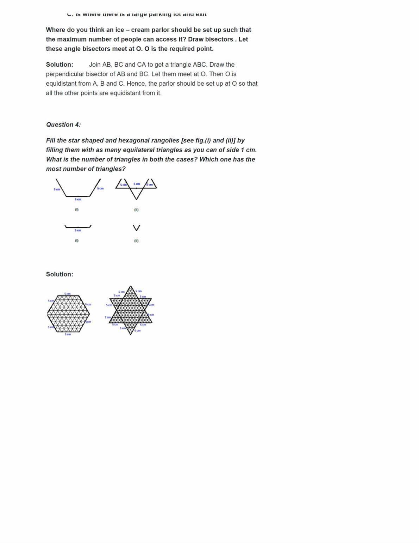 Ncert Solutions For Class 9 Maths Chapter 7 Ex 7.5