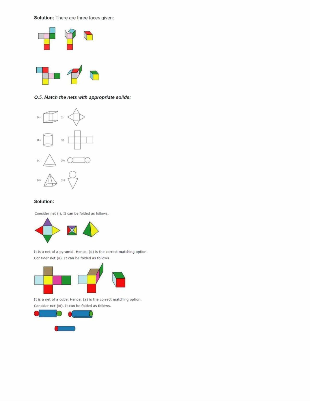 Ncert Solutions For Class 7 Maths Chapter 15 Ex 15.1