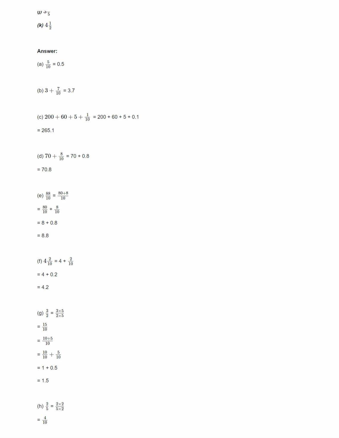 Ncert Solutions For Class 6 Maths Chapter 8 Ex 8.1