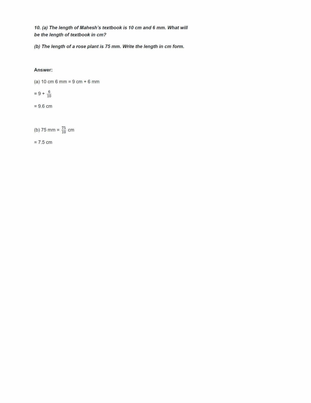 Ncert Solutions For Class 6 Maths Chapter 8 Ex 8.1