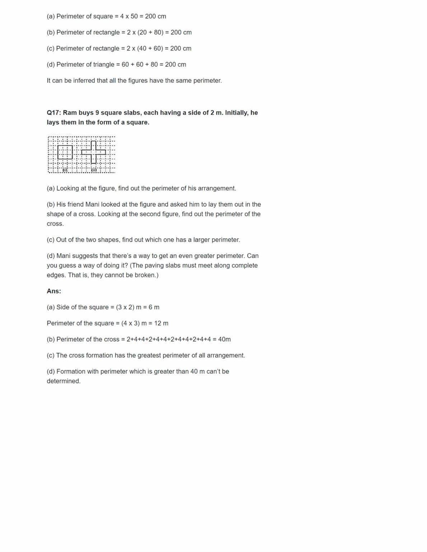 Ncert Solutions For Class 6 Maths Chapter 10 Ex 10.1