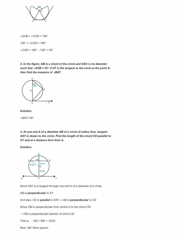 Ncert Solutions For Class 10 Maths Chapter 10 Ex 10.1