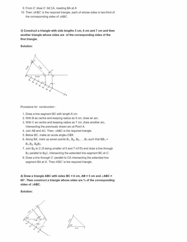 Ncert Solutions For Class 10 Maths Chapter 11 Ex 11.1