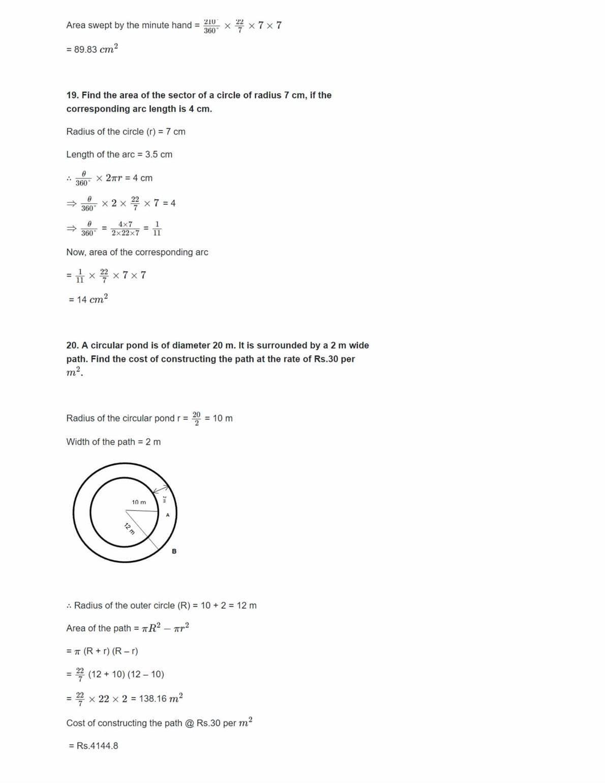 Ncert Solutions For Class 10 Maths Chapter 12 Ex 12.1