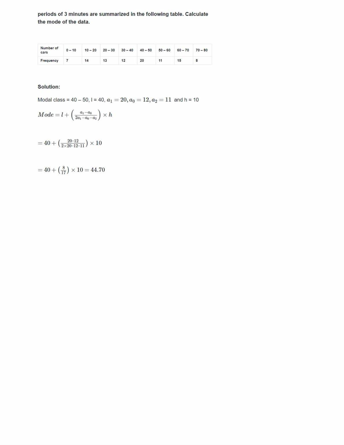 Ncert Solutions For Class 10 Maths Chapter 14 Ex 14.2
