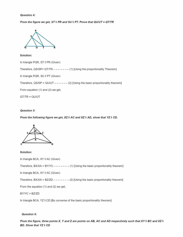 Ncert Solutions For Class 10 Maths Chapter 6 Ex 6.2