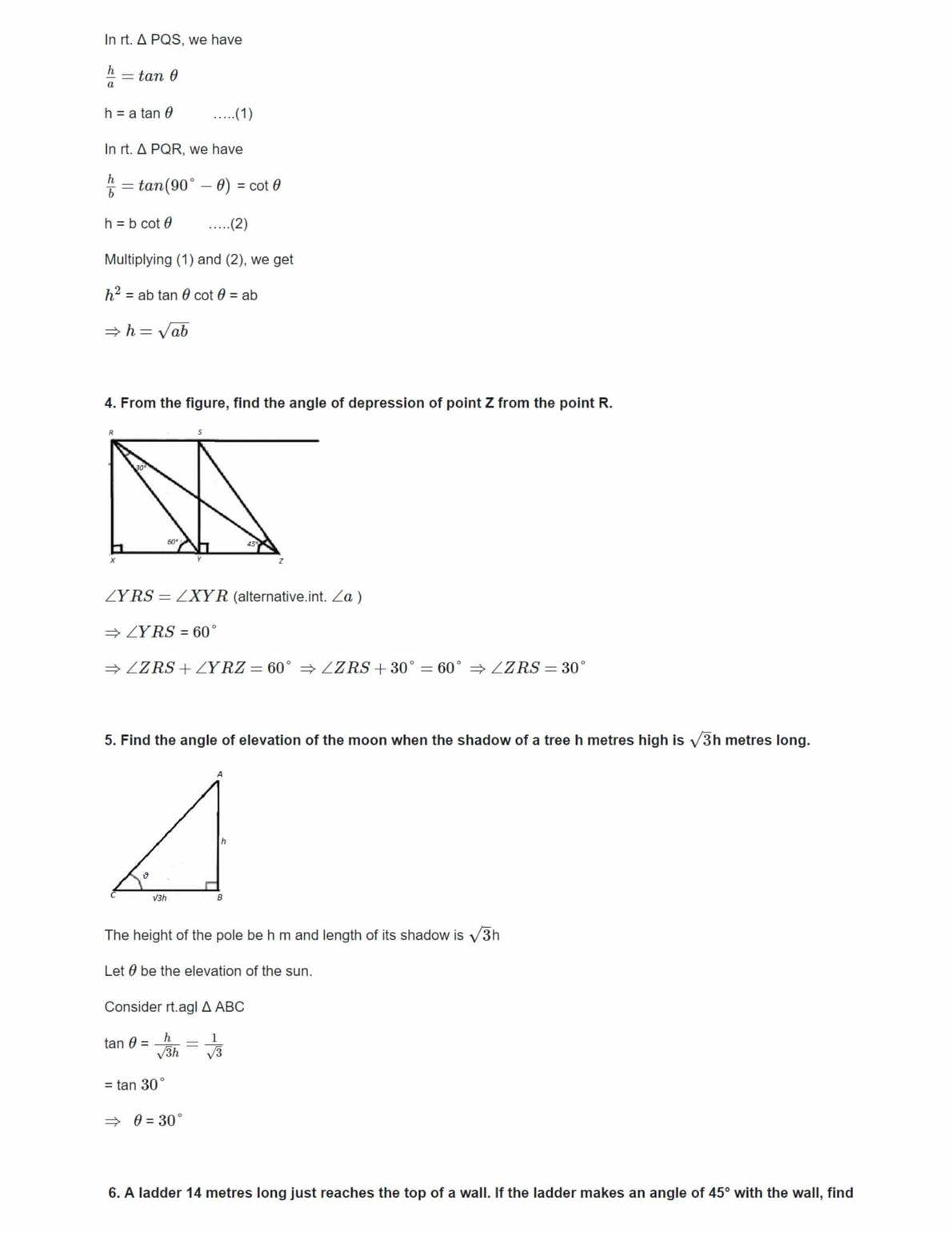 Ncert Solutions For Class 10 Maths Chapter 9 Ex 9.1