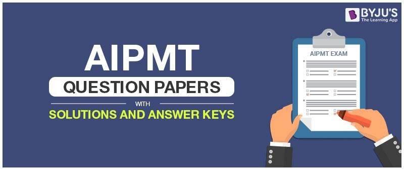Aipmt Exam Paper Pdf