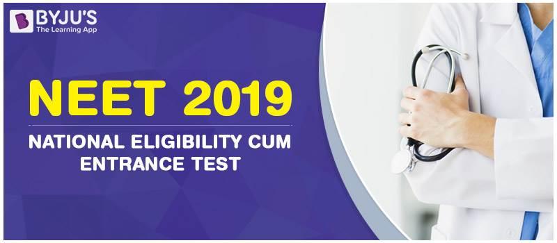 NEET Exam 2019