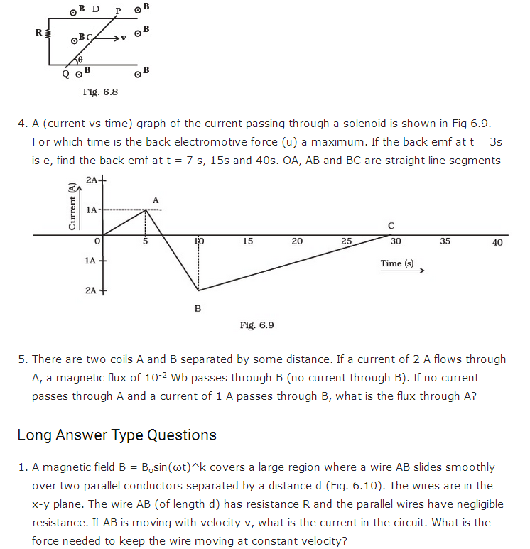 important questions class 12 physics chapter 6 electromagnetic induction 3