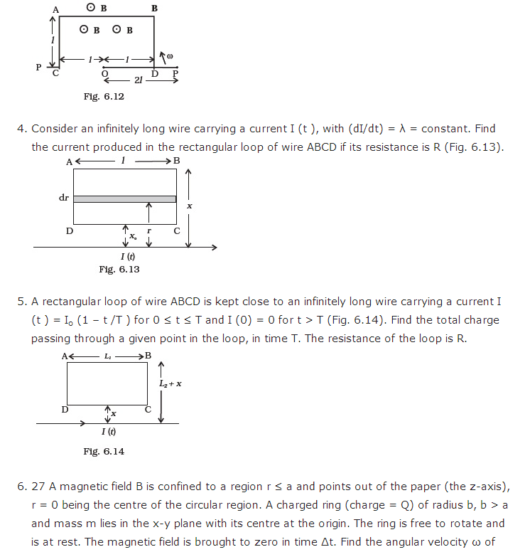 important questions class 12 physics chapter 6 electromagnetic induction 5