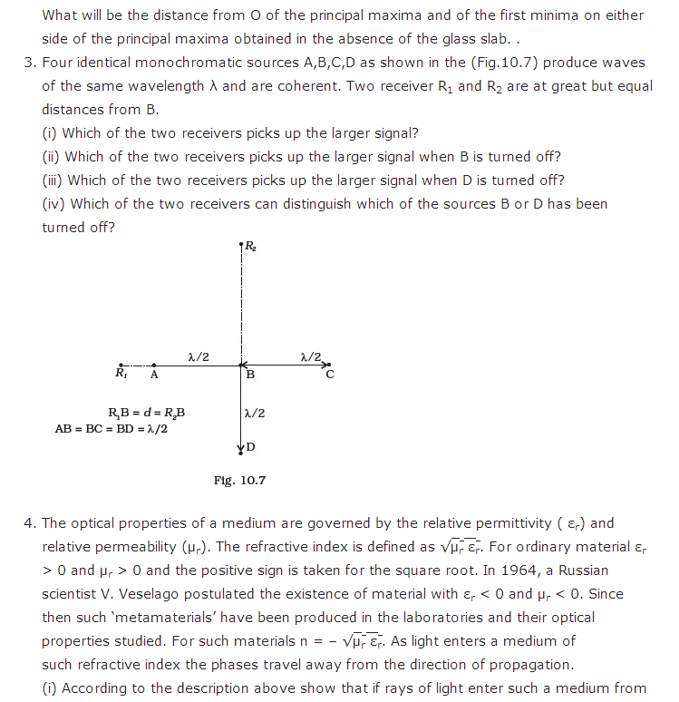 important questions class 12 physics chapter 10 wave optics 3