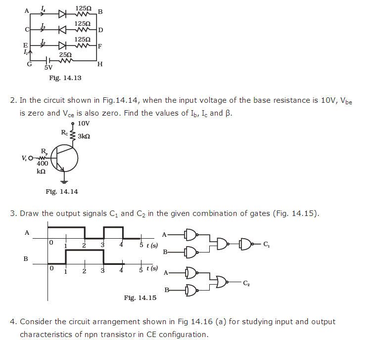 important questions class 12 physics chapter 14 semiconductor electronics materials 4