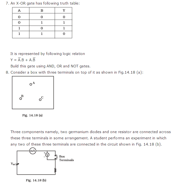 important questions class 12 physics chapter 14 semiconductor electronics materials 6