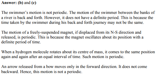 Physics Numericals Class 11 Chapter 14 2