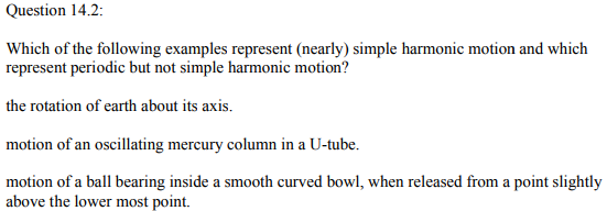 Physics Numericals Class 11 Chapter 14 3