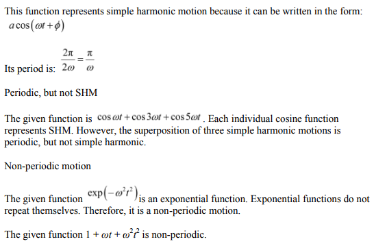 Physics Numericals Class 11 Chapter 14 13
