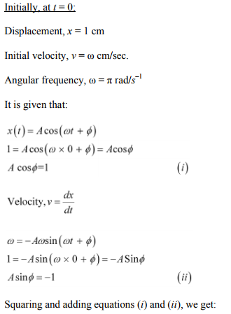 Physics Numericals Class 11 Chapter 14 21