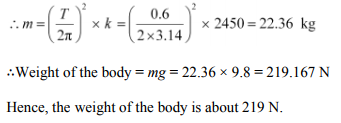 Physics Numericals Class 11 Chapter 14 27
