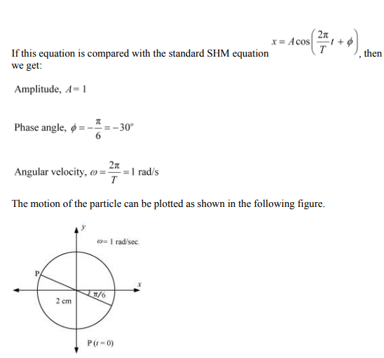 Physics Numericals Class 11 Chapter 14 44
