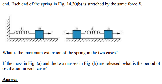 Physics Numericals Class 11 Chapter 14 49