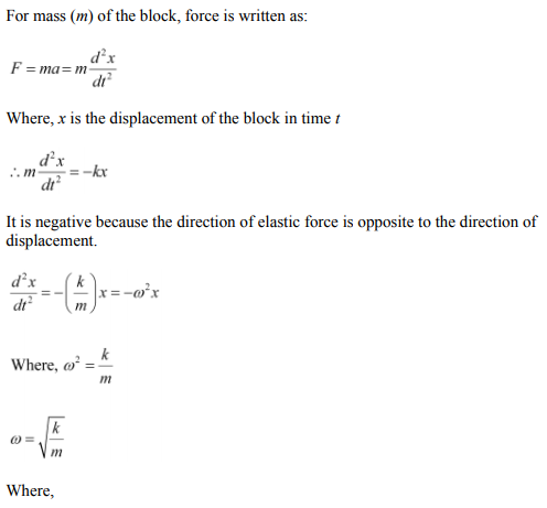 Physics Numericals Class 11 Chapter 14 51