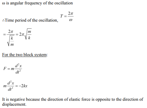 Physics Numericals Class 11 Chapter 14 52