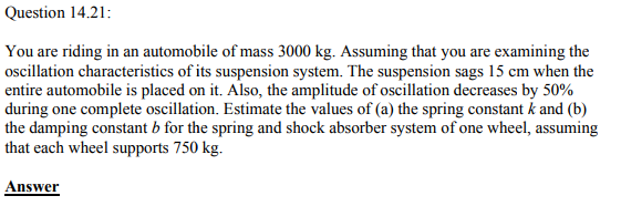 Physics Numericals Class 11 Chapter 14 79