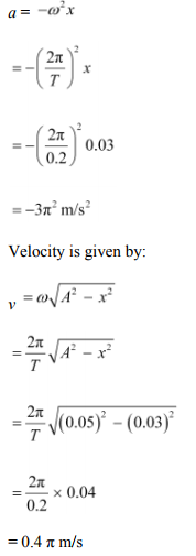 Physics Numericals Class 11 Chapter 14 97