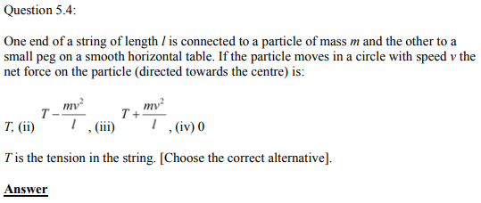 Physics Numericals Class 11 Chapter 5 8