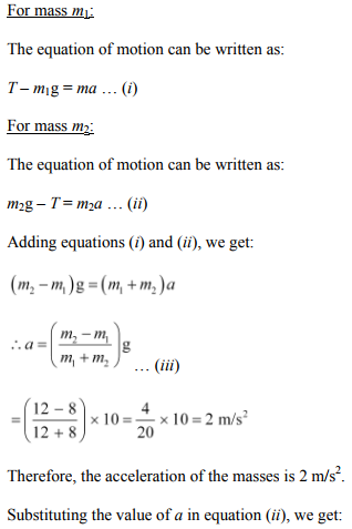 Physics Numericals Class 11 Chapter 5 49