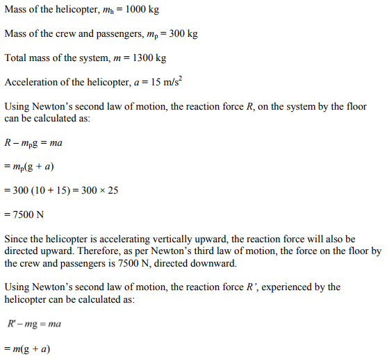 Physics Numericals Class 11 Chapter 5 84