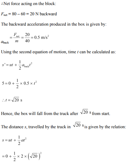 Physics Numericals Class 11 Chapter 5 114