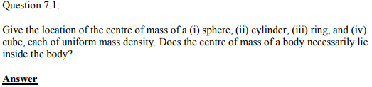 Physics Numericals Class 11 Chapter 7 1