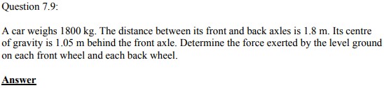 Physics Numericals Class 11 Chapter 7 29