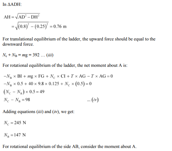 Physics Numericals Class 11 Chapter 7 97