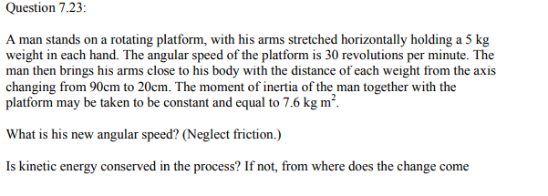 Physics Numericals Class 11 Chapter 7 99