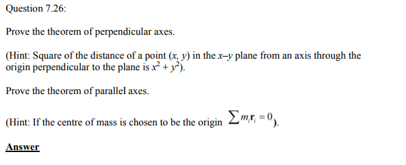 Physics Numericals Class 11 Chapter 7 111